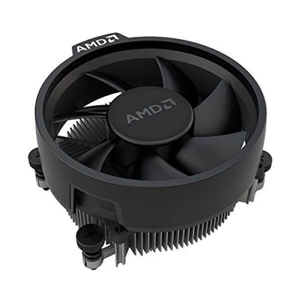 AMD Wraith Stealth Socket AM4 4-Pin Pendingin CPU dengan Penyerap Panas Aluminium & 3.93-Inch Fan (Slim) -Intl