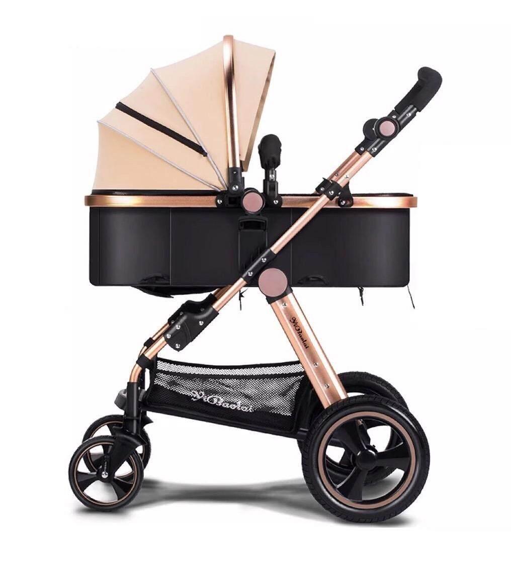 Yibaolai Premium Highview stroller pram