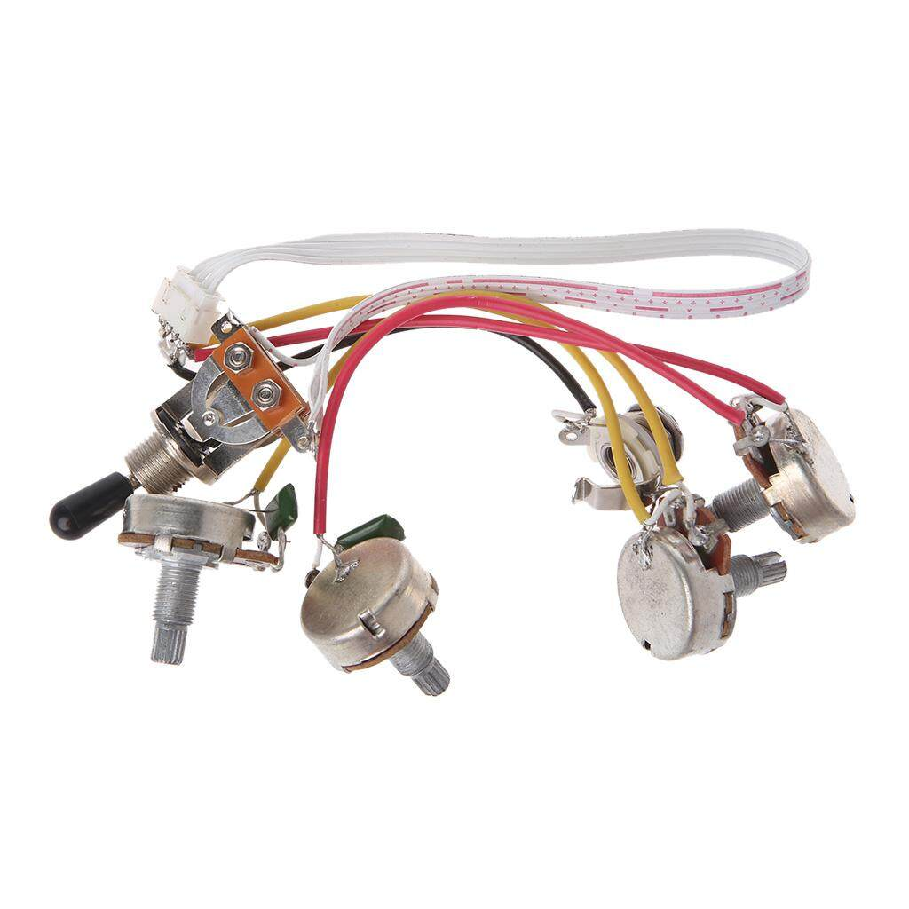 The Price Of 3 Way Toggle Switch For Les Paul Electric Guitar Wiring A Lp Harness Kit 2 Volume Tone Jack