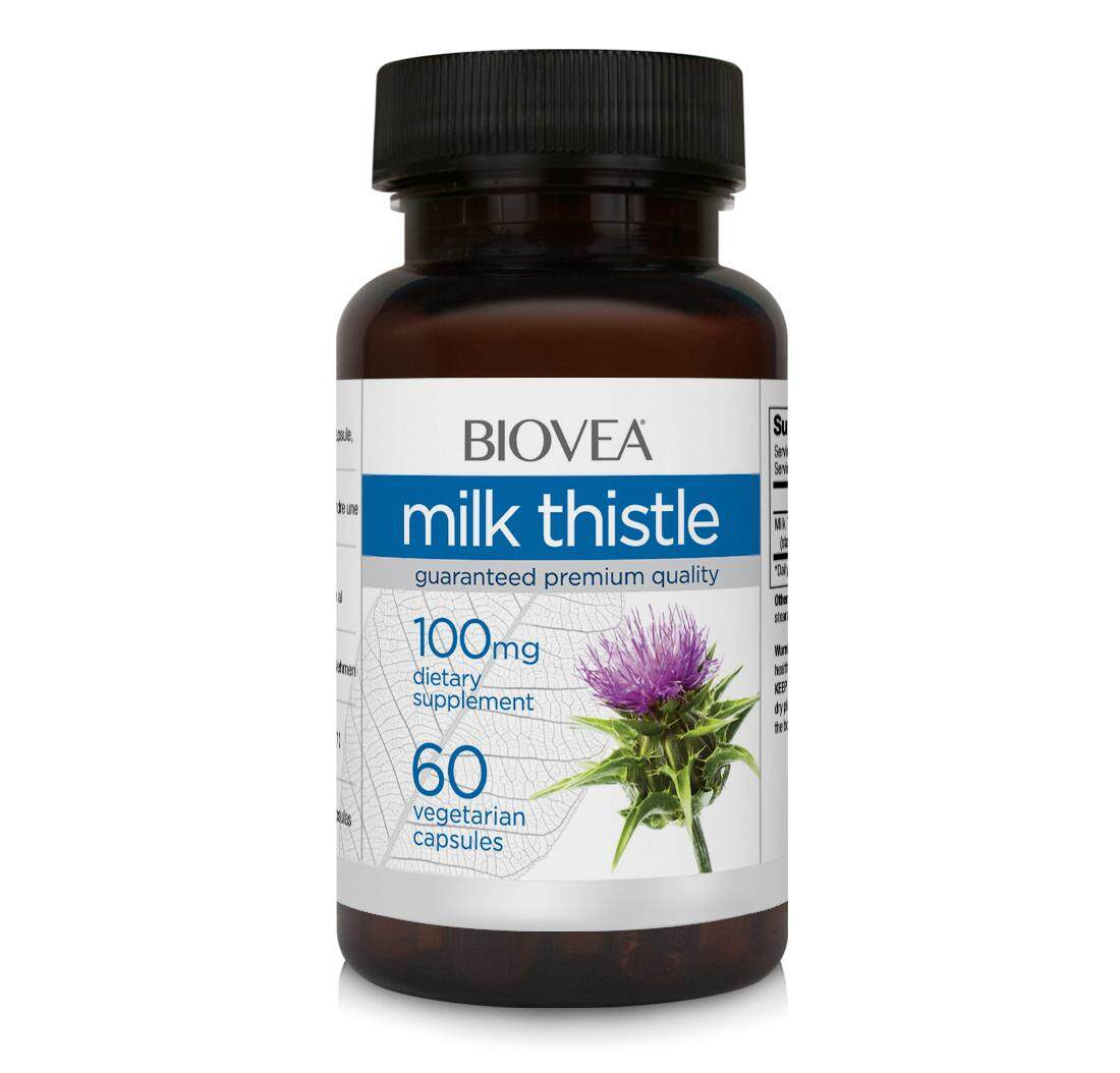 MILK THISTLE 100mg 60 Vegetarian Capsules