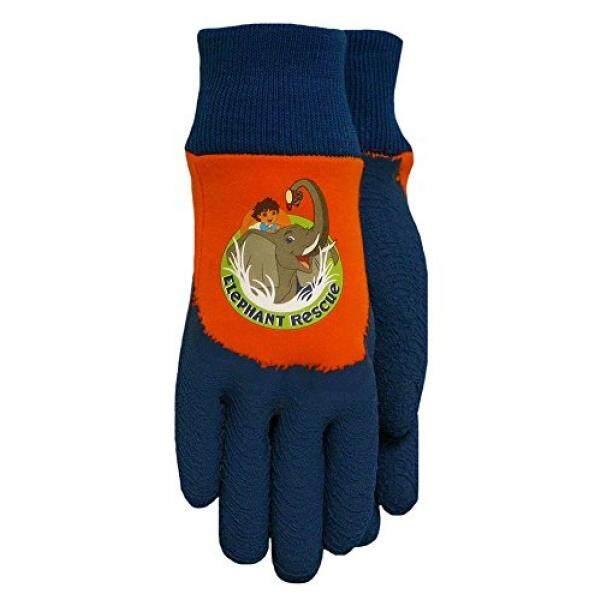 Almm Sarung Tangan Midwest DO100T Diego Mencengkeram Sarung Tangan, Oranye-Internasional