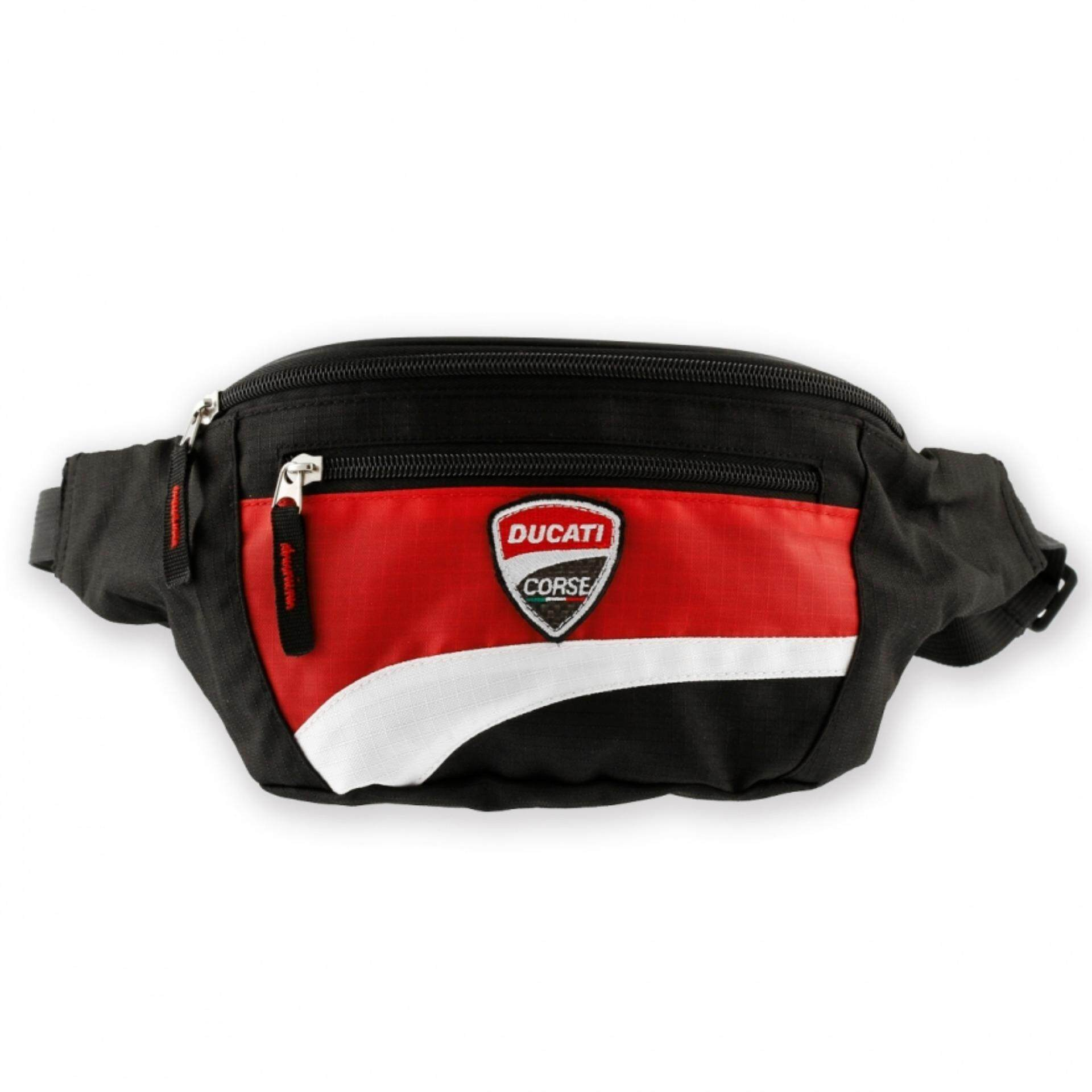 100% Authentic - Ducati Corse 12 Waist Bag 987675345 adc15413ad