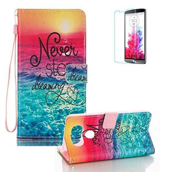 LG V20 Case with Free Screen Protector.Funyye Stylish Lanyard Magnetic Detachable PU Leather Wallet