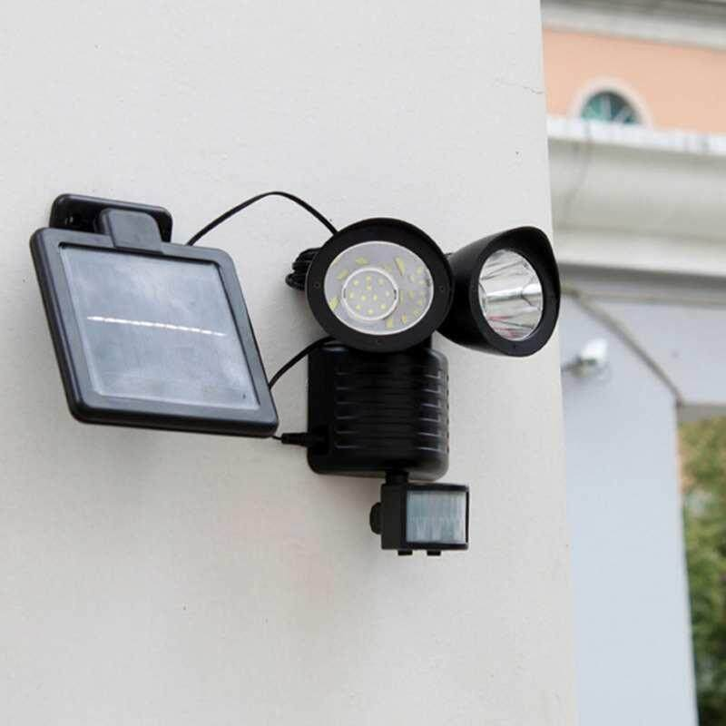 Watson 22 Led Garden Outdoor Solar Powerd Motion Sensor Light Security Flood Lamp - Intl By Watson.