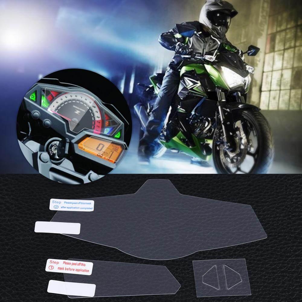 Screen Protector Cluster Scratch Protection Film Screen Protector for Kawasaki Z300 Ninja300 EX300 Z250 13-16 - intl