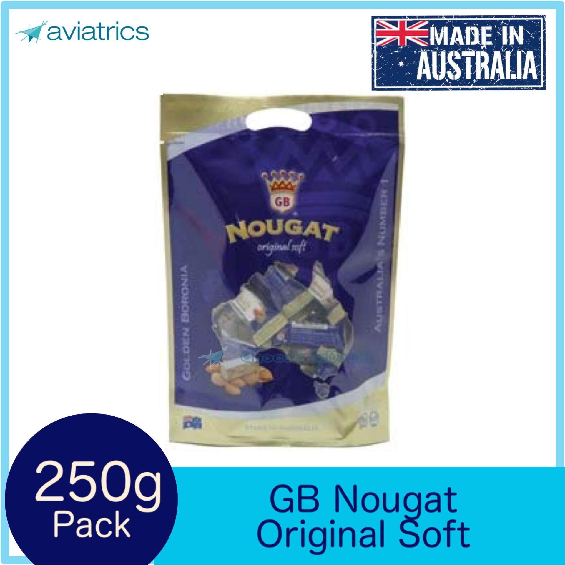 Golden Boronia Nougat Original Soft 250G (Made in Australia)