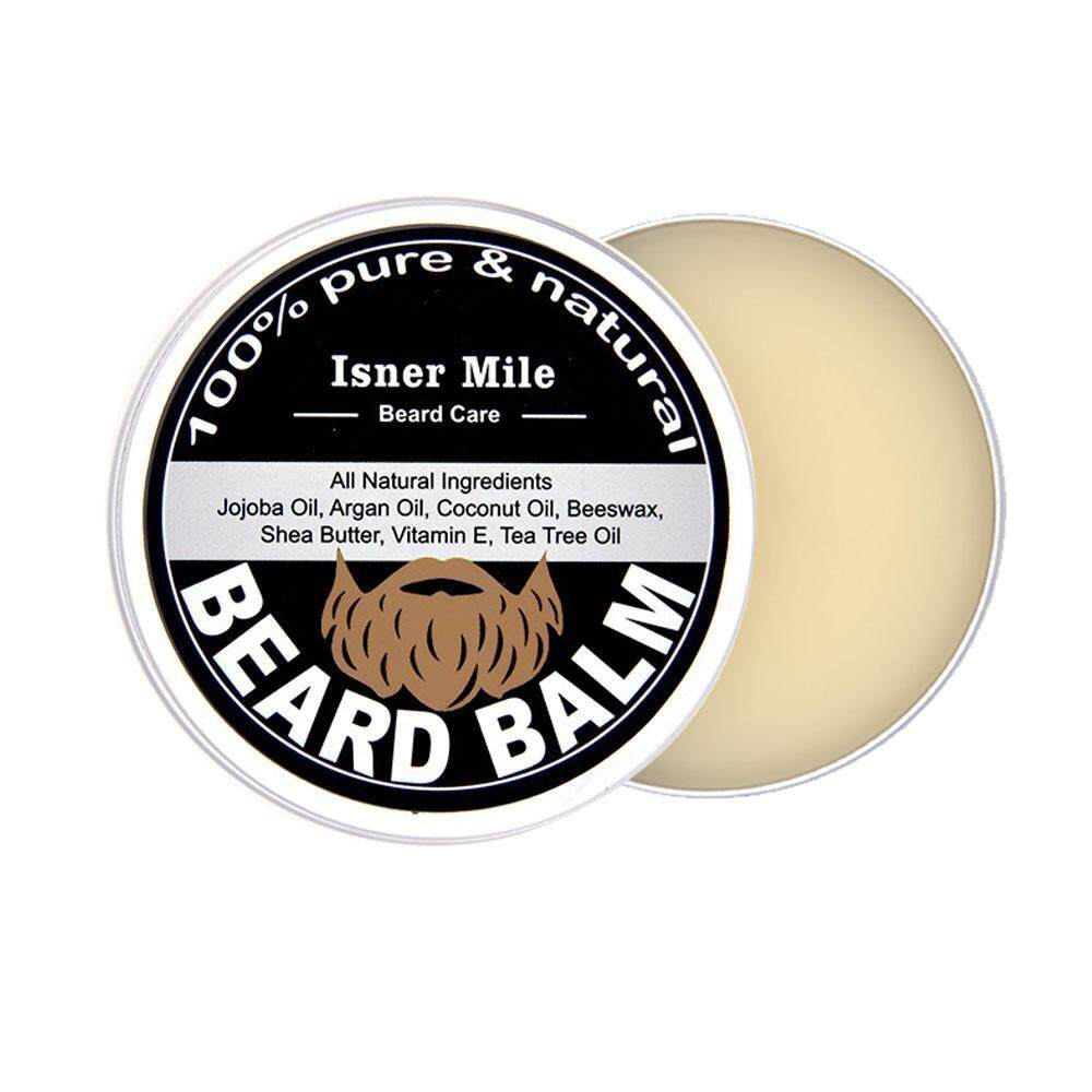 roortour Honest Amish Beard Balm Leave-in Conditioner - All Natural -Vegan Friendly Organic Oils And Butters[60g] - intl