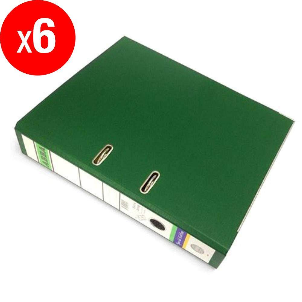 ABBA Lever Arch File - 3-inch Size - 404 Special Edition -Green ABBA-404SE-GR X 6 pcs