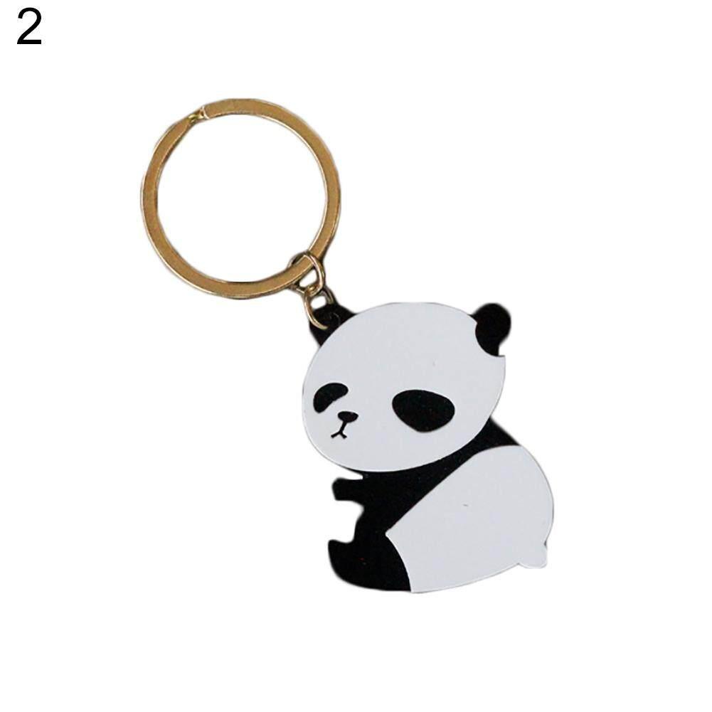 Bluelans Cute Cartoon Panda Pendant Keychain Car Bag Wallet Key Ring Gift Accessory (2#