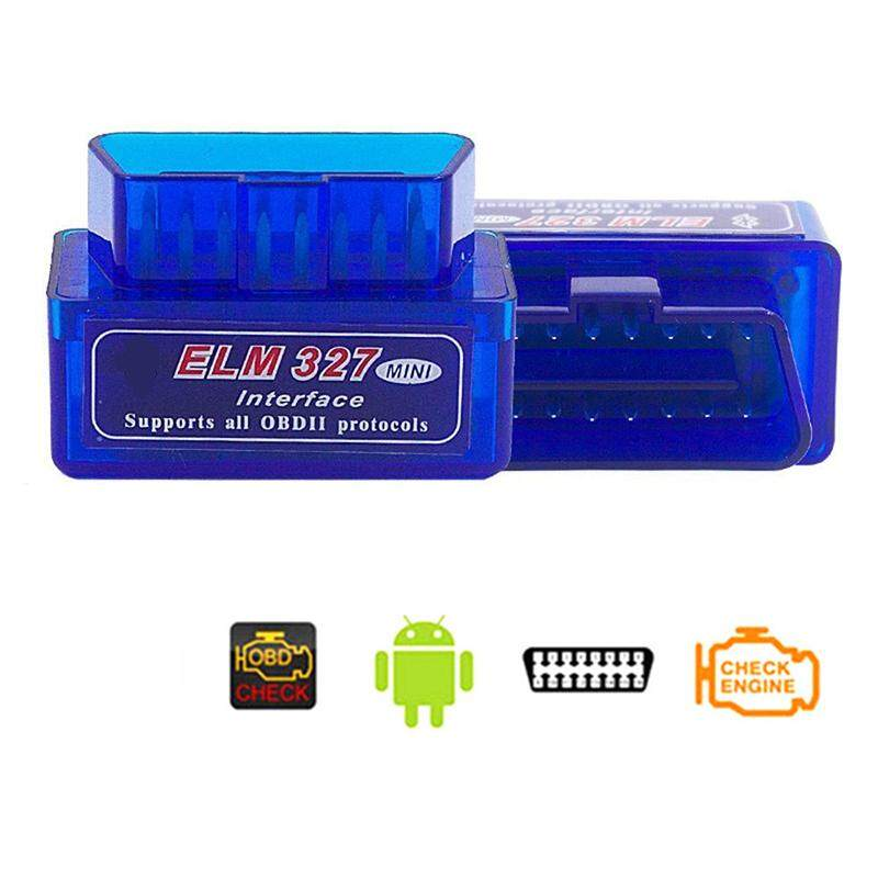 Super Mini ELM327 Bluetooth V2 1 OBD2 Wireless Car Diagnostic Scanner  Universal OBD II Auto Scan Tool Work On Android Models:ELM327 V2 1