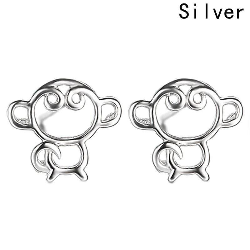 Fancyqube new Little Monkey King small stud earrings for young women girls children earrings wholesale - intl
