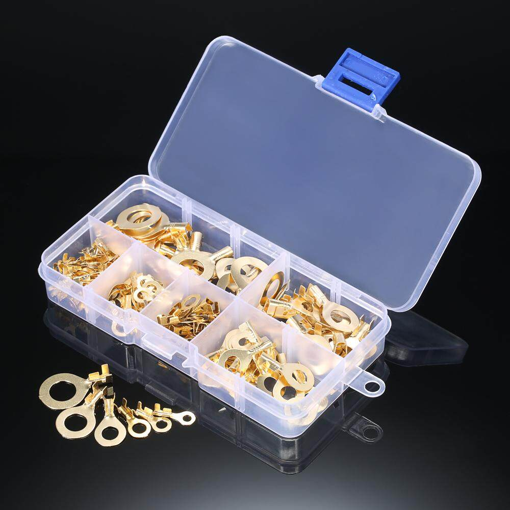 Buy Sell Cheapest 150pcs M3 M4 Best Quality Product Deals Mur Nilon M8 Ss 304 Lock Nut Nylon Assorted Brass Ring Cable Lugs Eyes Copper Crimp Connector Wire Terminals
