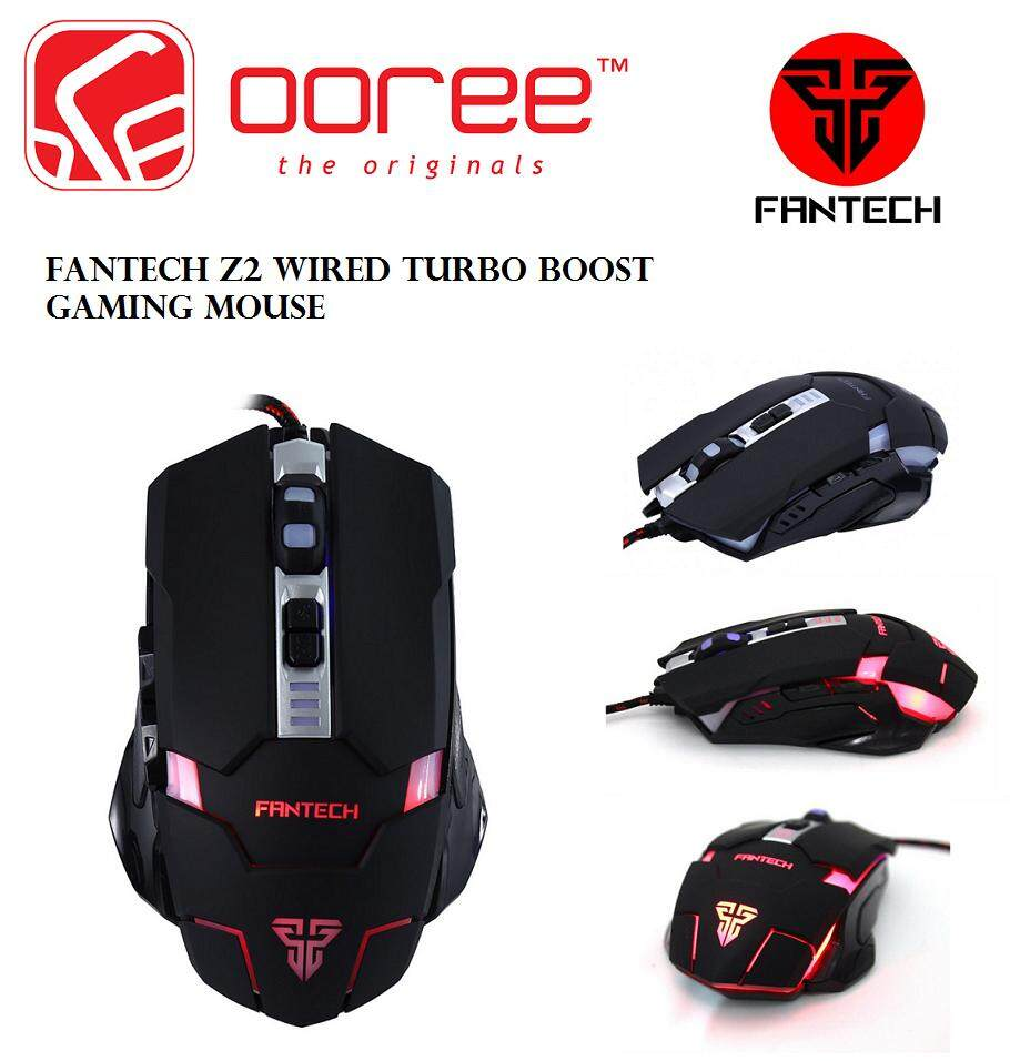 GENUINE FANTECH Z2 WIRED TURBO BOOST GAMING MOUSE