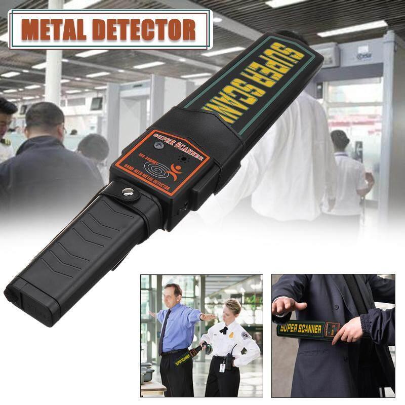 Genggam Detektor Logam Portabel Keamanan Pemindai Super Tongkat Bandara Body Scan-Intl