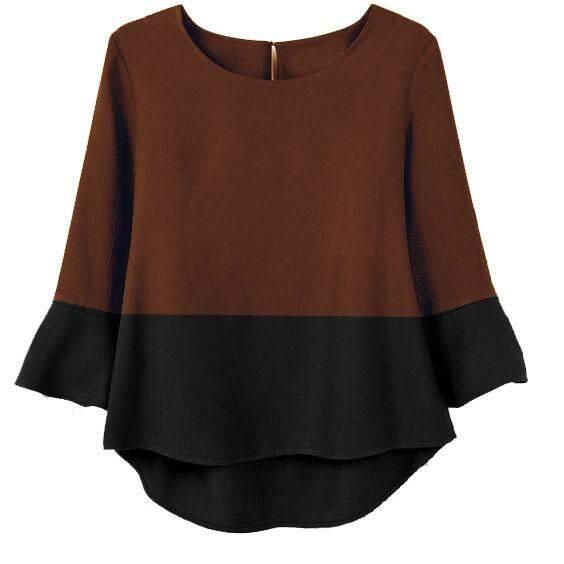 Fashion latest design long sleeve women blouse new fashion - Sakura