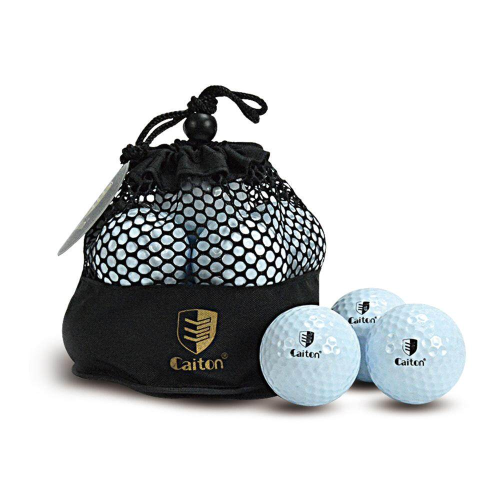 10 Golf Ball With Mesh Bag Golf Sports Equipment Accessory - Intl By Outdoorfree.