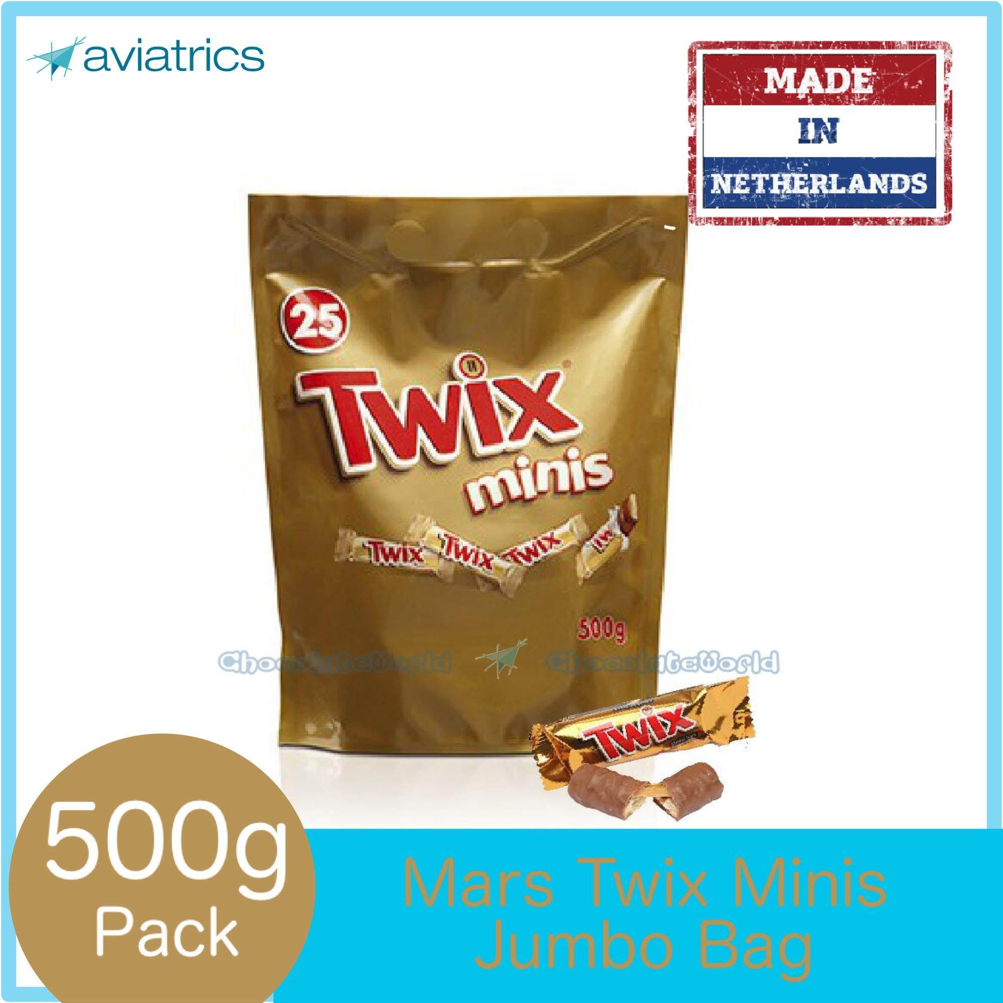 Twix Minis Jumbo bag 500g (Made in Netherlands)