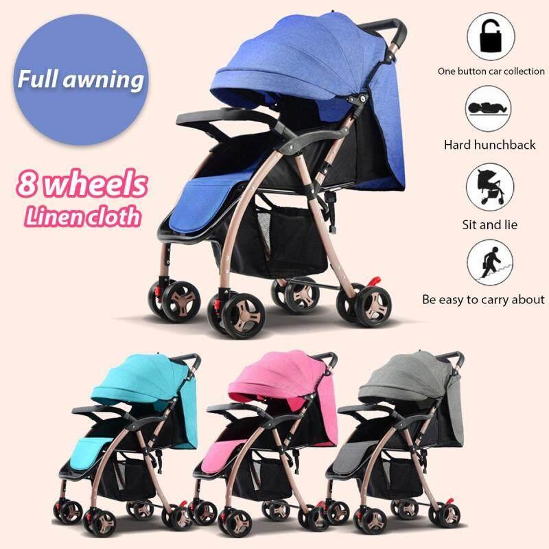 Newborn Lightweight Compact Fold Baby Stroller Prams Pushchair Travel Carry On - intl Singapore