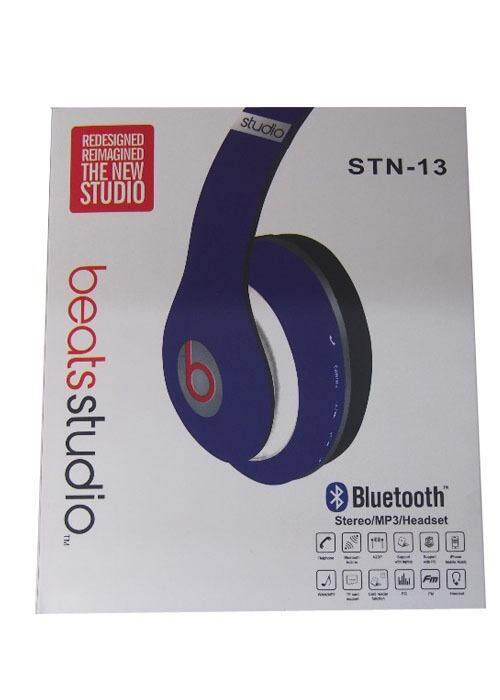 Bluetooth Stereo MP3 Headset DARK BLUE