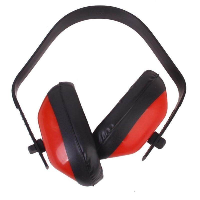 Anti noise Headset Red Foam Noise Reduction Ear Protection