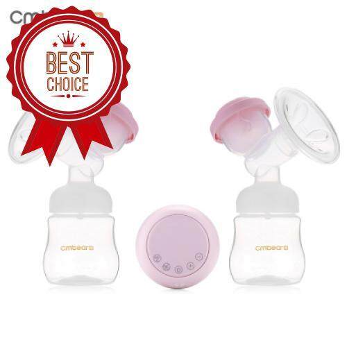 Cmbear ZRX - 0618 BPA Free USB Double Electric Breast Pump (LIGHT PINK)
