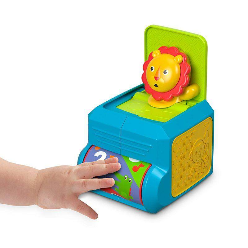 [Fisher-Price] Infant Spin n Surprise Lion Jack In The Box baby toys