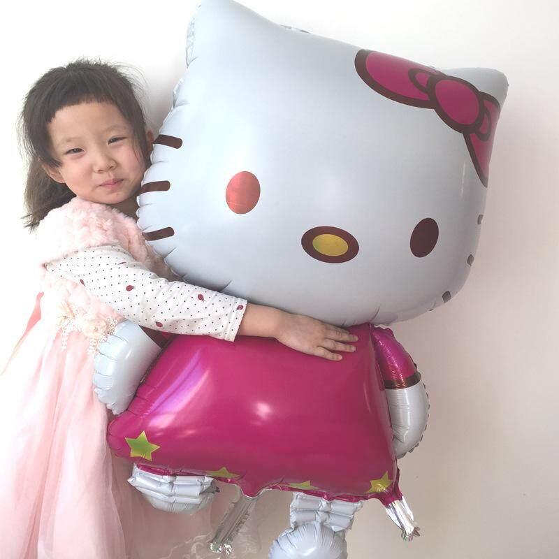 Happy Birthday Party Balloon Party Celebration Belon Hari Jadi Kitty Cat ( 70cm x 114cm ) toys for girls
