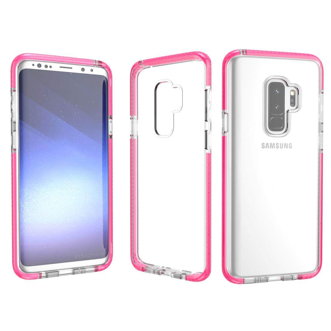 Features Slim Shockproof Case For Xiaomi Mi 5s Plus Transparent Brushed Carbon Armor Hard Soft Mi5s Galaxy S9 Crystal Tpu Cover