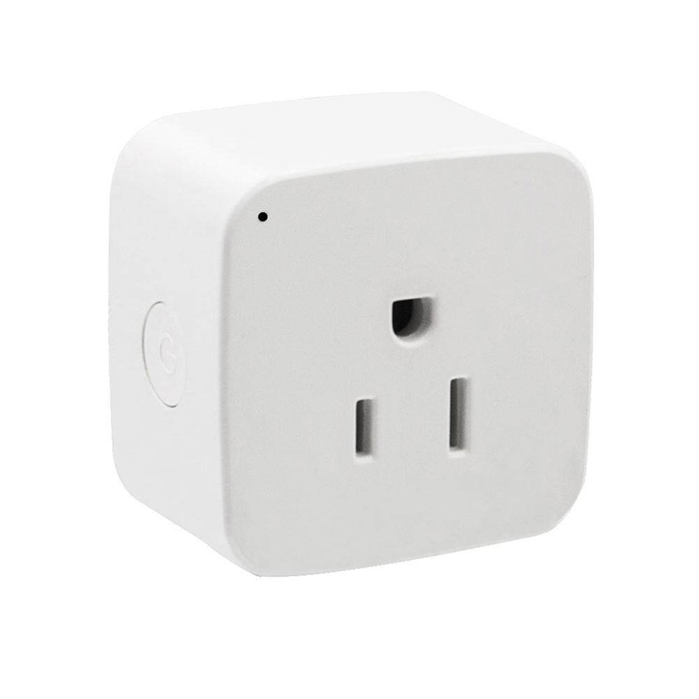 bovong US Plug - WiFi Smart Plug,Mini Smart Outlet Work With Amazon Alexa Google Home Remote Control By APP
