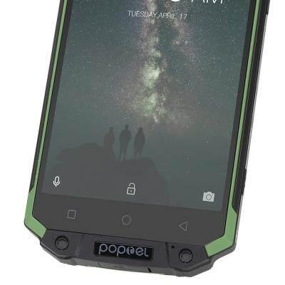 poptel P9000 MAX 4G Phablet IP68 MTK6750V Octa Core 4GB RAM 64GB ROM 9000mAh (GREEN)