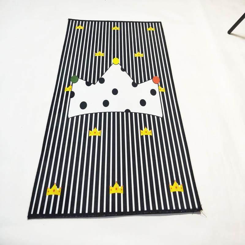 Besar Ruang Tamu Karpet Tatami Anti-selip Mudah Dicuci Bayi Bedroom Bedside Tikar Lembut Dining Room Dalam Kursi Komputer daerah Permadani 120X160 Cm-Internasional