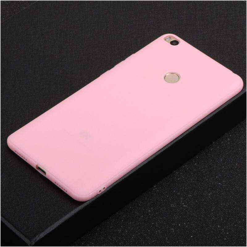 Soft Silicone TPU Shockproof Case Slim Ultra Thin Frosted Matte Back Cover for Xiaomi Mi Max