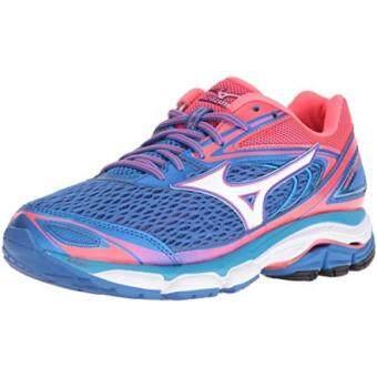 Bandingkan Toko Mizuno Wanita Gelombang Menginspirasi 13 Sepatu Lari Malibu Biru/Pink 9 B US-Intl sale - Hanya Rp4.471.810