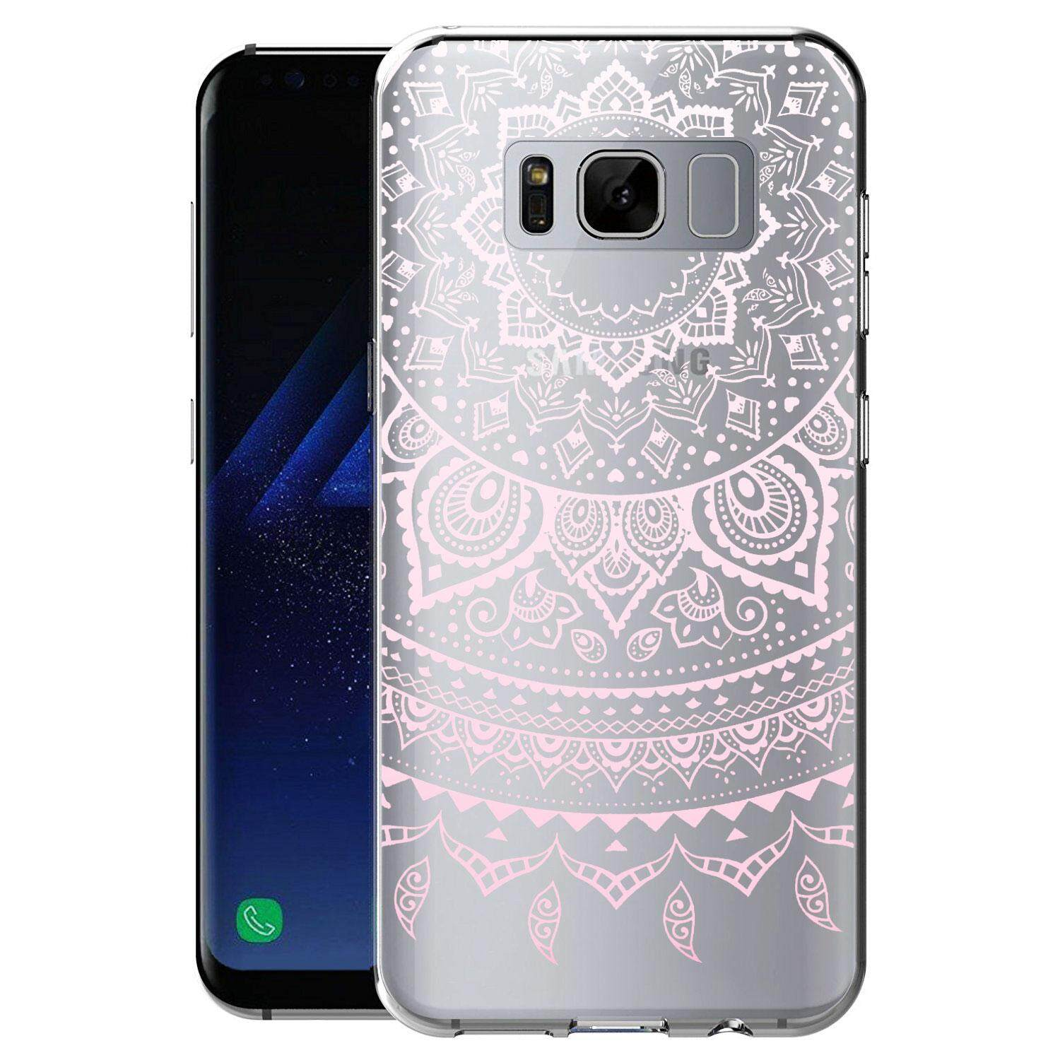 Rymall for Galaxy S8 TPU Case Crystal Clear Case Transparent Soft Silicone Shock Absorption Bumper