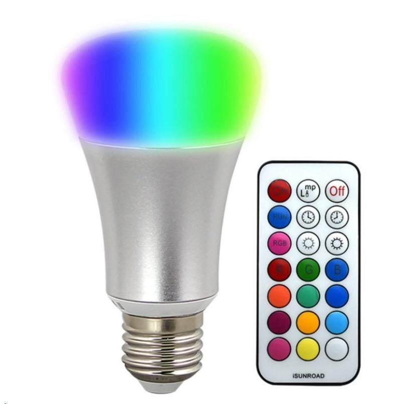 ES Lite 10W LED IR RGB Remote Control Multi Color Bulb
