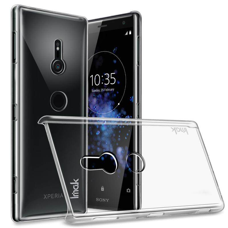 IMAK Crystal Case For Sony Xperia XZ2 5.7 inch Hard PC Back Cover Phone Cases for Sony XZ2 Cover