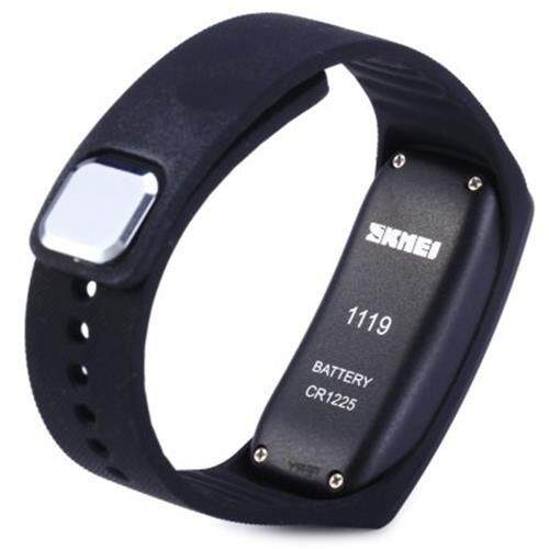 SKMEI 1119 LED SPORTS WATCH WITH DATE FUNCTION RUBBER BAND (BLACK)