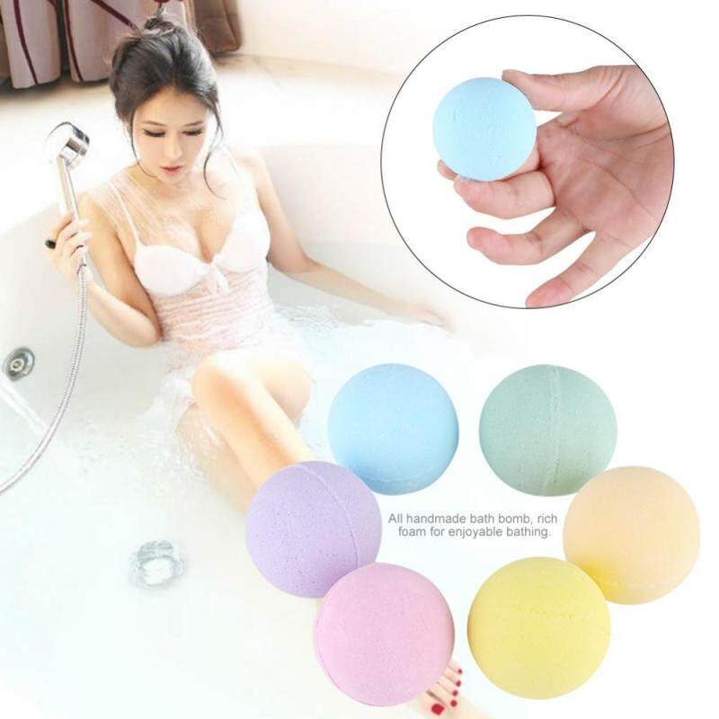 Buy 6pcs/set Handmade Bath Bomb Aromatherapy Relaxation Moisturizing Essential Oil Spa Bomb Bath - intl Singapore