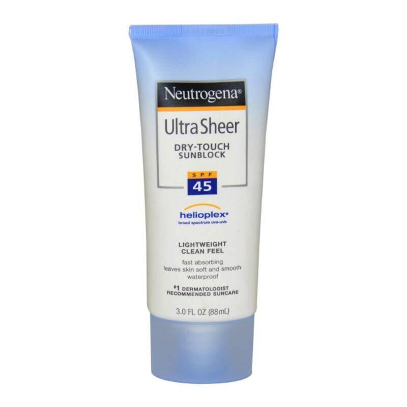 Buy Neutrogena Ultra Sheer Dry Touch Sunblock SPF 45 - 3 oz Sunblock Singapore