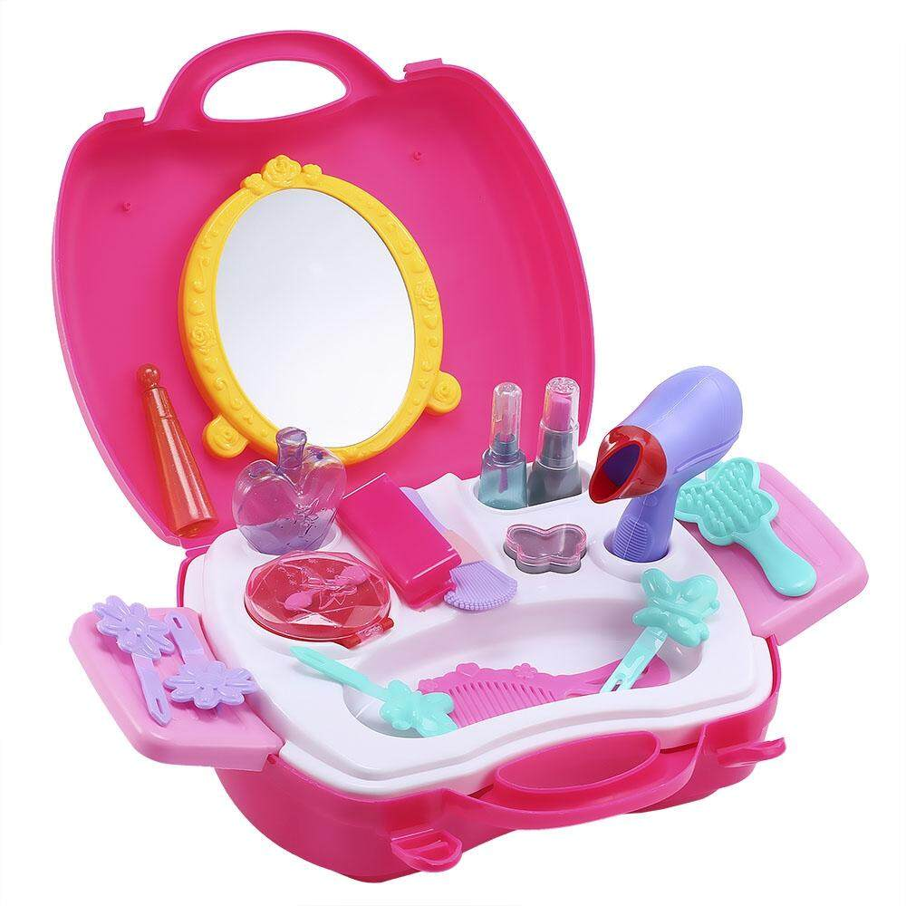 21PCS BABY KIDS MINI SIMULATION MAKEUP TOOLS BOX EDUCATIONAL PRETEND PLAY TOY GIFT toys for girls