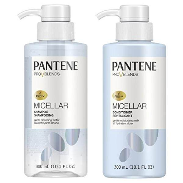 Price Pantene 2 Piece Pro V Blends Micellar Gentle Cleansing Water Shampoo And Moisturizing Milk Conditioner Set Intl Online South Korea
