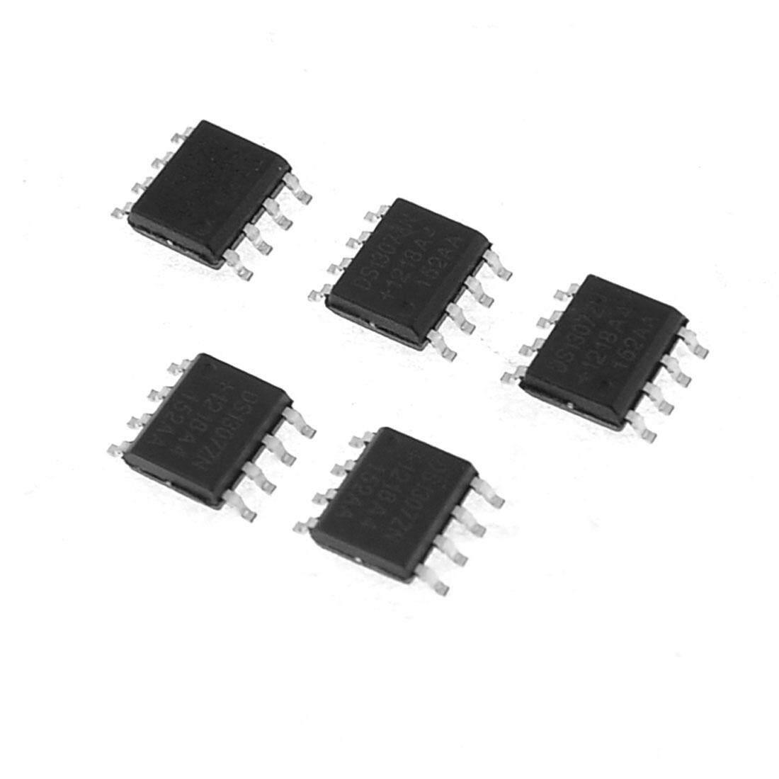 AXA 5 Pcs DS1307ZN Elektronik 8 Pin SMT SOIC Jam Curcuit IC