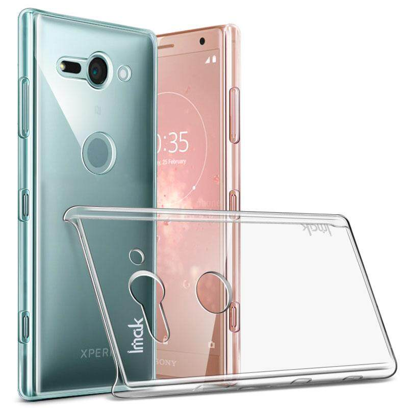 IMAK Crystal Case For Sony Xperia XZ2 Compact Hard PC Back Cover Phone Cases