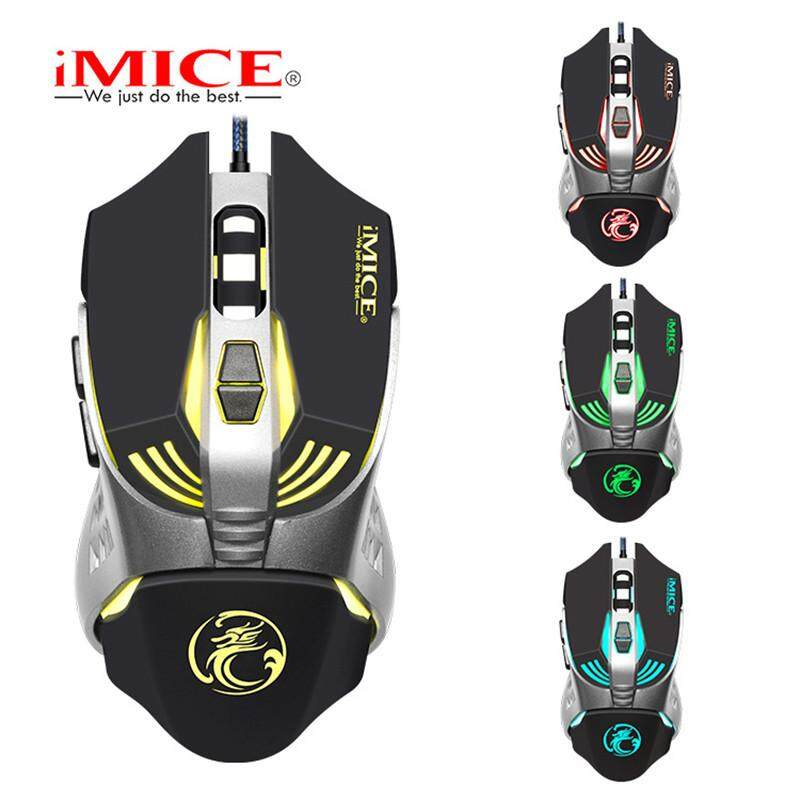 Letu iMice V5 Wired Gaming Mouse 7 Button 3200 DPI LED Optical USB Computer Mouse Gamer Mice