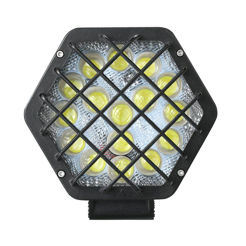 1 PC Kecerahan Tinggi Kendaraan Mati-Jalan Dimodifikasi LED Lampu Depan Mobil Suv Atap Ringan Luar Ruangan Petualangan Lampu untuk jip Tambahan Lampu-Internasional