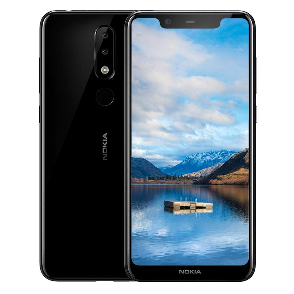 Original Nokia X5 4G Phablet 5.86 inch Helio P60 Octa Core 3GB RAM 32GB ROM