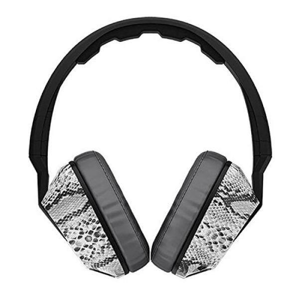 Asli SKULLCANDY Headphone Crusher dengan Built-In Amplifier dan MIC (Kostonsnakeskin)