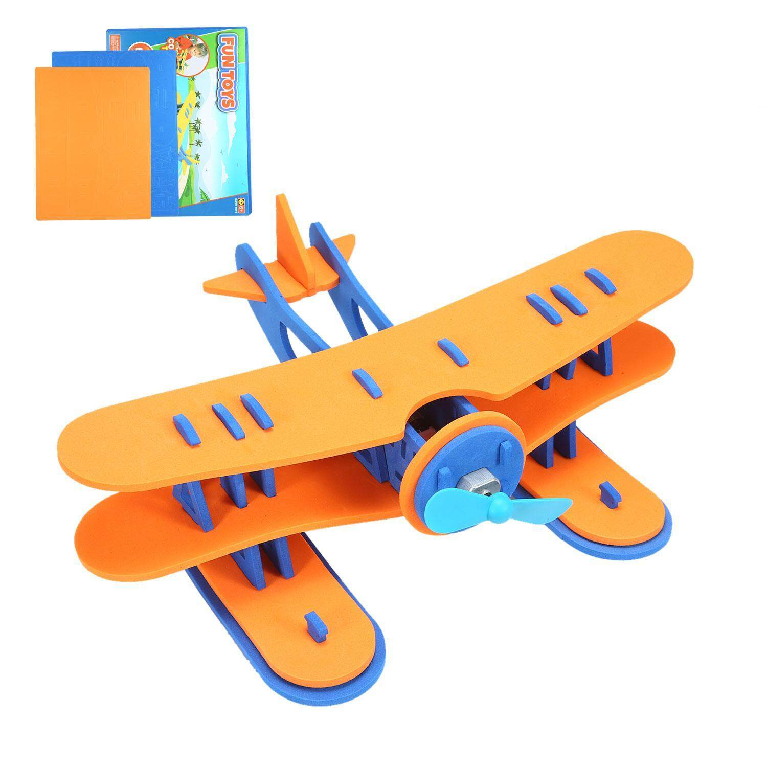 Hình ảnh Womdee DIY Seaplane Floating Toys For Bathtime And Pool Play - intl