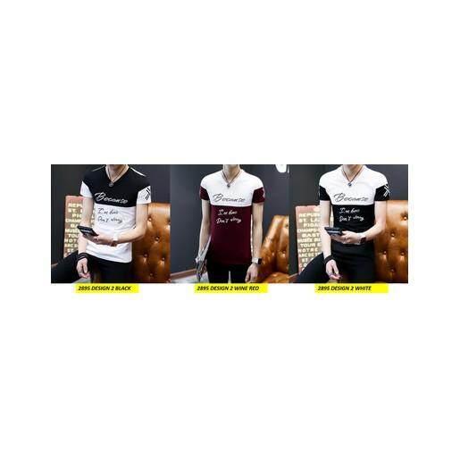 (Pre Order ETA End Feb 2021 CNY Break)(Pre Order ETA 14/2)Korean Style Men Short Sleeve Shirt Collection 301C-2895 Design 2 (Wine Red)