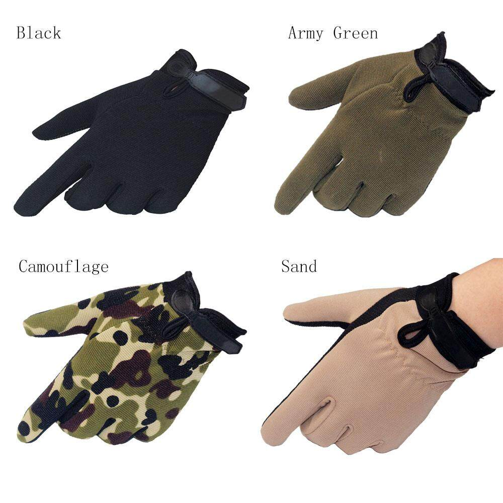 Cycling Gloves Buy At Best Price In Singapore Www Mtb Sarung Tangan Sepeda Size M To L Outdoor Sports Camouflage Mens Military Tactical Riding Fashion Hunting Full Finger Intl